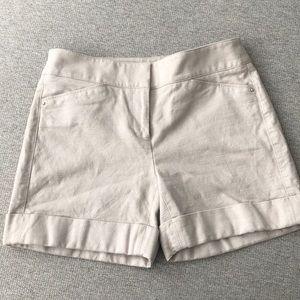 White House black market high waisted shorts